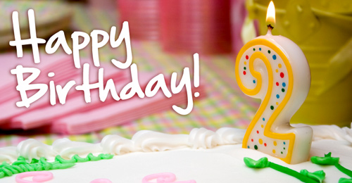 Happy 2nd Birthday…..   Wicked Toys